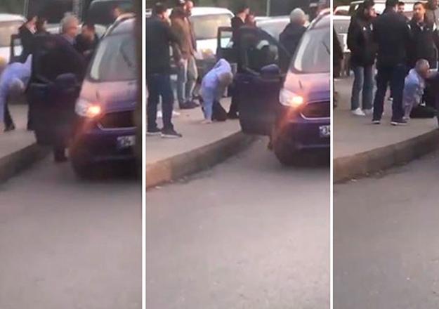 Trafik tartışmasında zabıta amirini bıçakladı!
