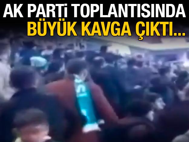 AK Parti ilçe teşkilatları arasında arbede