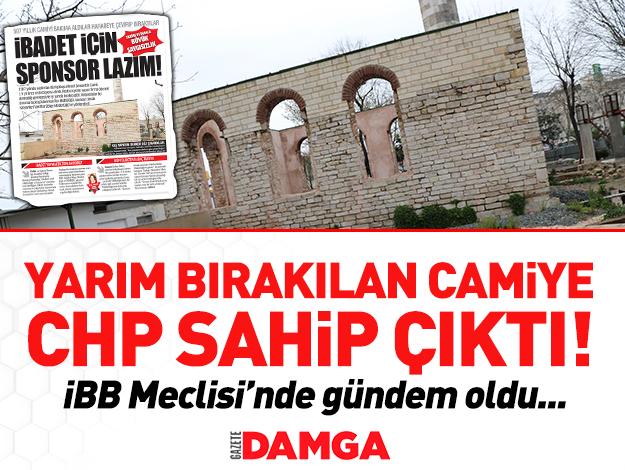 CHP'liler camiye sahip çıktı!