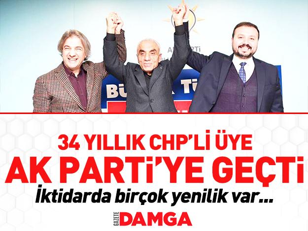 CHP meclis üyesi AK Parti'ye geçti