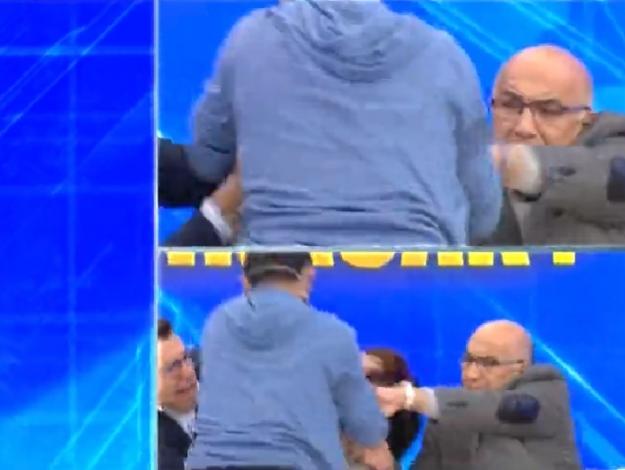 DNA testi sonucu açıklandıktan sonra Faruk Aydın Birgül Memiş'e saldırdı