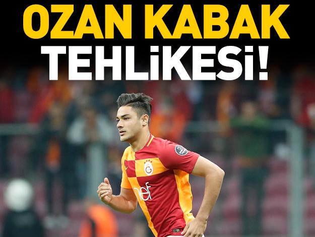 Galatasaray'da Ozan Kabak tehlikesi