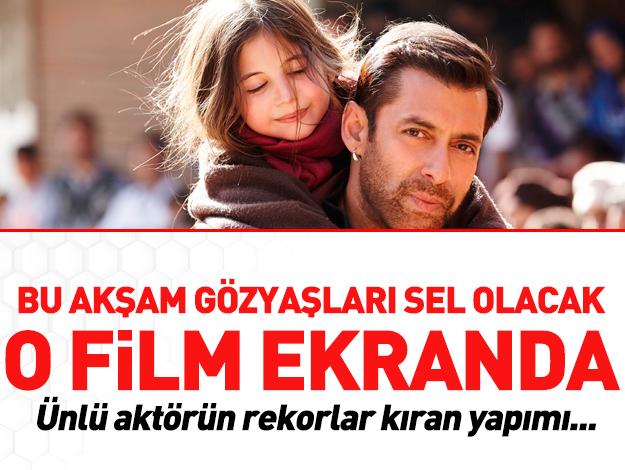 Salman Khan Bajrangi Bhaijaan ile TRT ekranlarında!