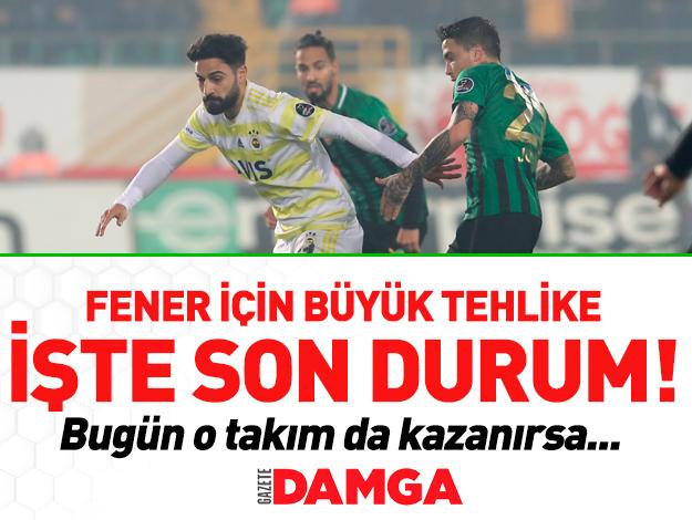 Spor Toto Süper Lig Puan Durumu | Fenerbahçe kaçıncı sırada?