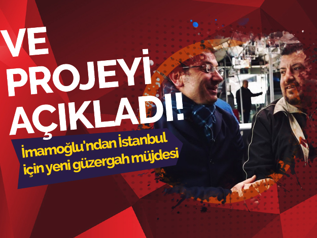 Ekrem İmamoğlu'ndan Sultanbeyli-Esenyurt metrobüs hattı projesi