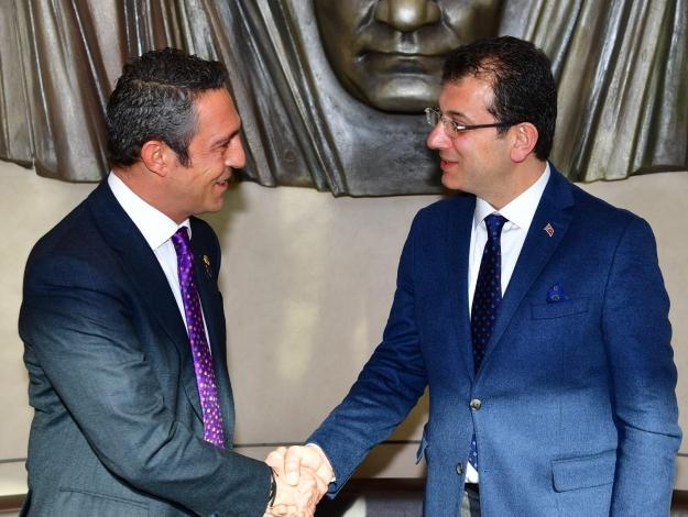 İmamoğlu'undan Ali Koç'a Nutuk
