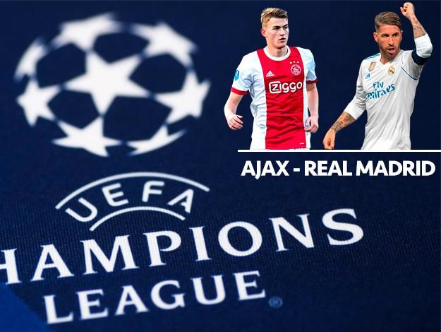 Ajax - Real Madrid Şampiyonlar Ligi maçı saat kaçta ve hangi kanalda
