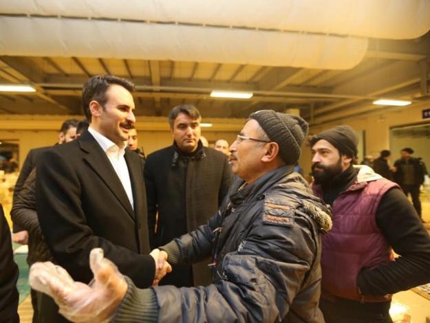 AK Partili Işık mezata katıldı