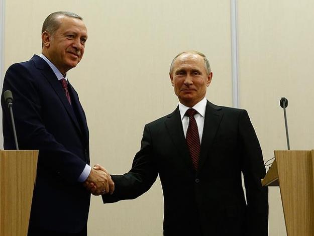 Cumhurbaşkanı Erdoğan Soçi'de