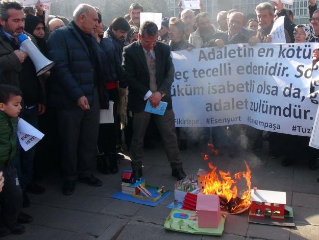 Esenyurt'un konut mağdurları isyan etti