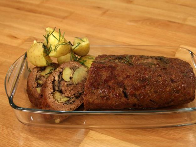 Gelinim Mutfakta Mantarlı Rulo Köfte nasıl yapılır? Tarifi ve malzemeleri nedir