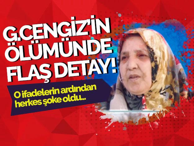 Güleser Cengiz cinayetinde flaş gelişme!