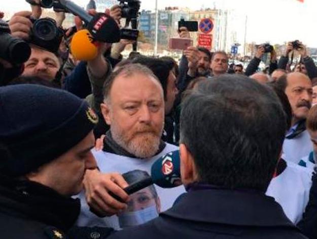 HDP'nin yürüyüşüne izin veirlmedi