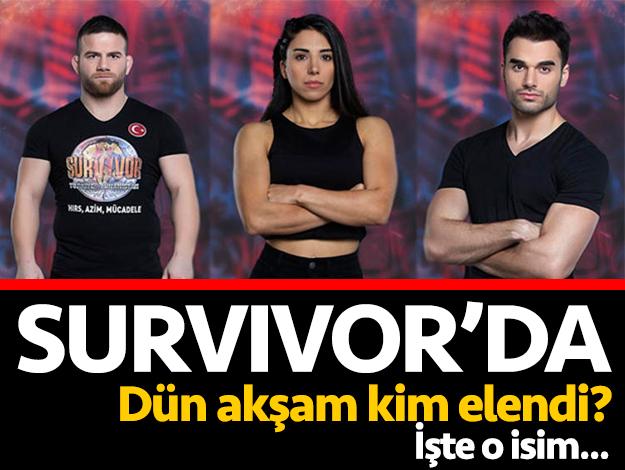 Survivor'da kim elendi? SMS sonuçları ve adaya veda eden isim