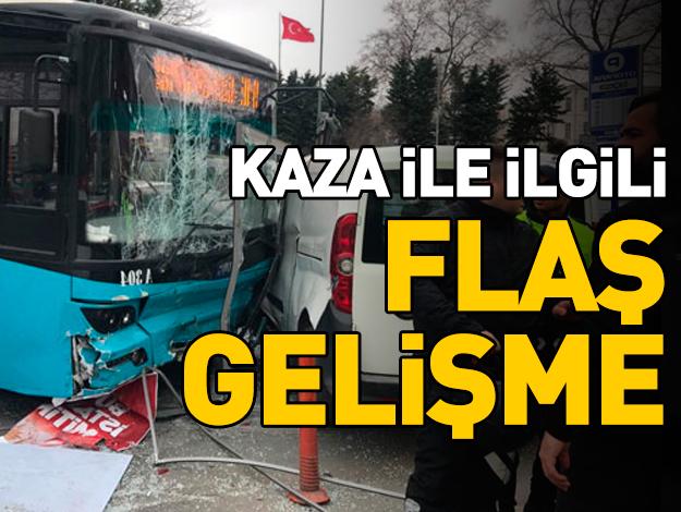 Beyazıt'taki kazada otobüs şoförü mahkemeye sevk edildi