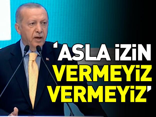 Erdoğan'dan Golan Tepeleri açıklaması: Asla izin vermeiz, vermeyiz