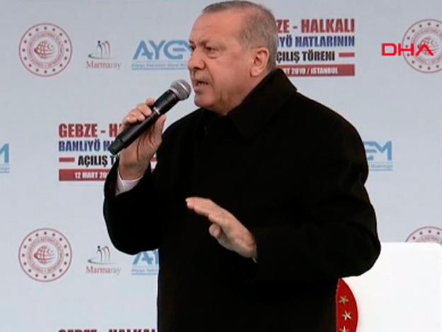 Erdoğan'dan Kılıçdaroğlu'na; Sen yalanları söyledikçe biz paraları alacağız