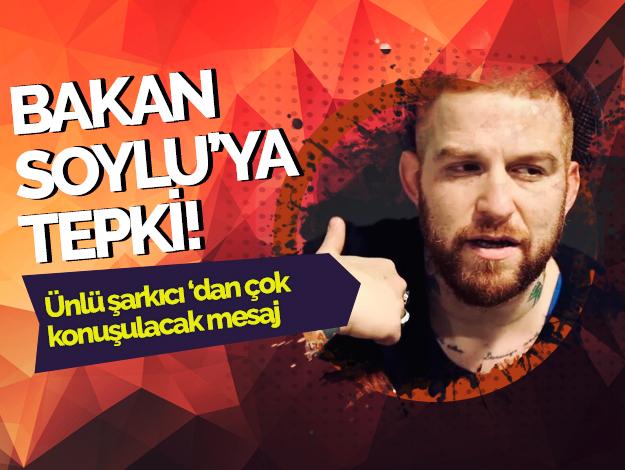 Gökhan Özoğuz'dan Bakan Soylu'ya tepki!