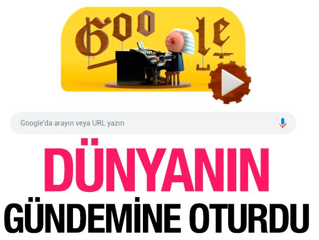 Google'ın bugünkü Doodle'ına konu olan Johann Sebastian Bach kimdir? Neden Doodle oldu