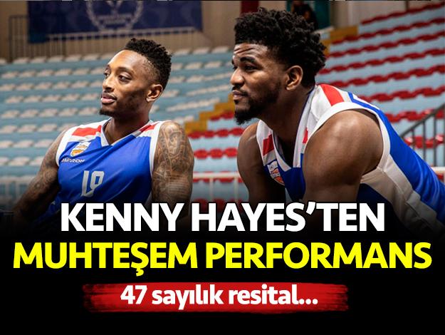 Kenny Hayes'ten kariyer rekoru!