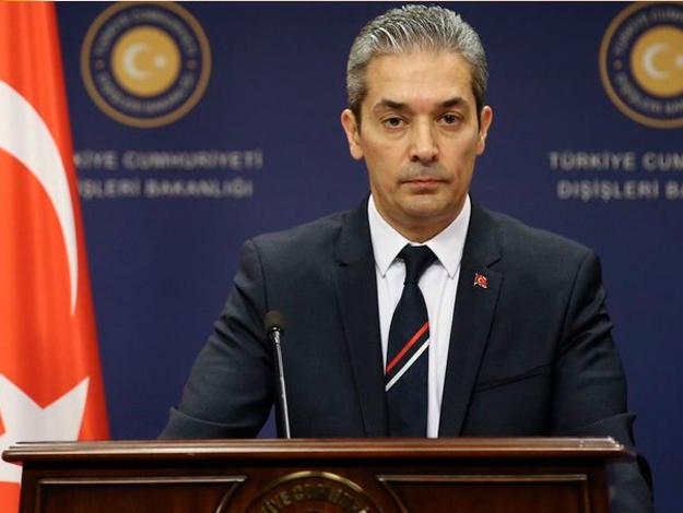 Türkiye'den Çekya'ya tepki