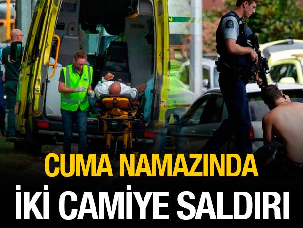 Yeni Zelanda'da iki camiye saldırı! Katliamı canlı yayınladı...