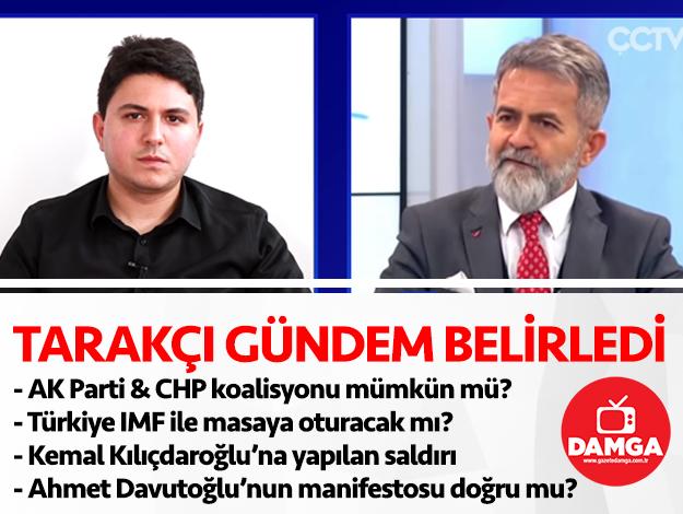 Ali Tarakçı açıkladı: AK Parti ve CHP koalisyonu mümkün mü? Ahmet Davutoğlu manifestosu ne anlama geliyor?