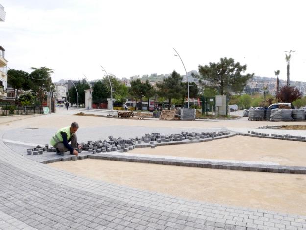 Çocuklar için yeni park