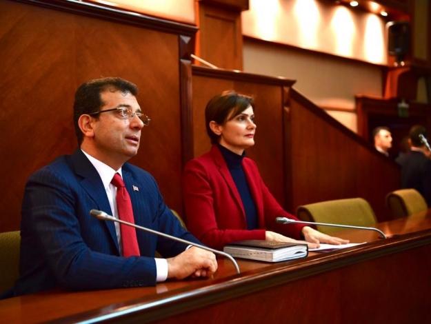 Ekrem İmamoğlu CHP'li başkanlar ve meclis üyeleriyle buluştu