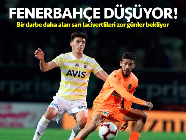 Fenerbahçe düşüyor! Kalan maçlar ve rakiplerinin fikstürü