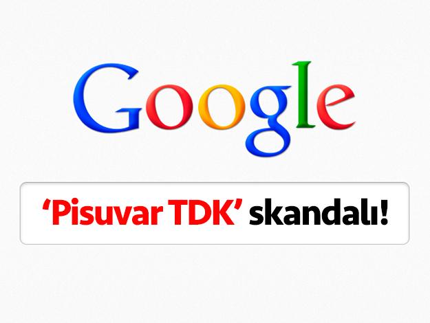 Google'da 'Pisuvar TDK' skandalı! Pisuvar nedir neden cemevi çıkıyor