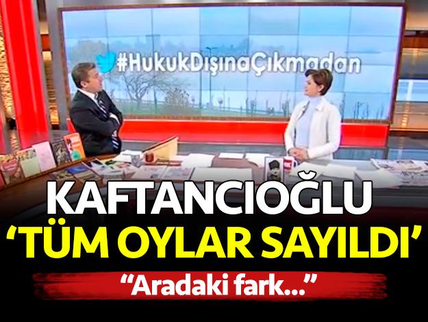 İsmail Küçükkaya Çalar Saat Canlı Yayın FOX TV izle Canan Kaftancıoğlu