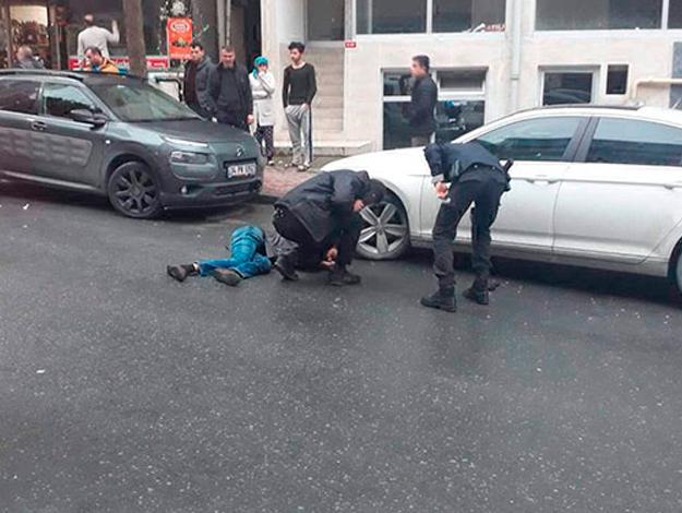 Kağıthane'de sokak ortasında cinayet