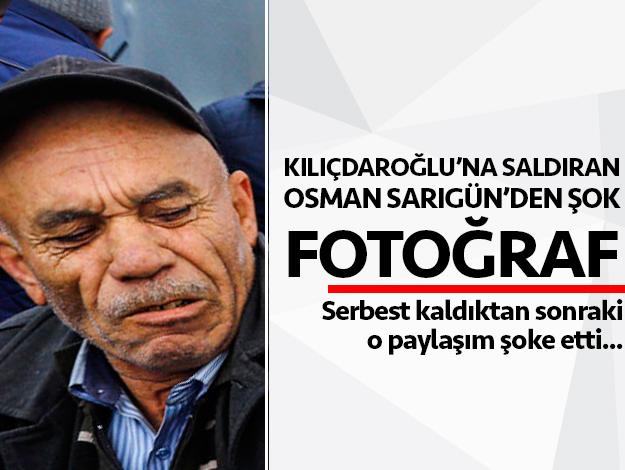 Kemal Kılıçdaroğlu'na saldıran Osman Sarıgün'ün elini öptüler