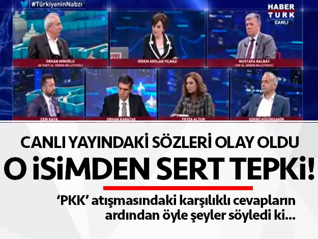 'PKK' atışmasında Feyza Altun'dan Orhan Miroğlu'na sert cevap