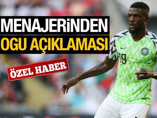 Trabzonspor John Ogu ile ilgileniyor mu? Menajeri açıkladı