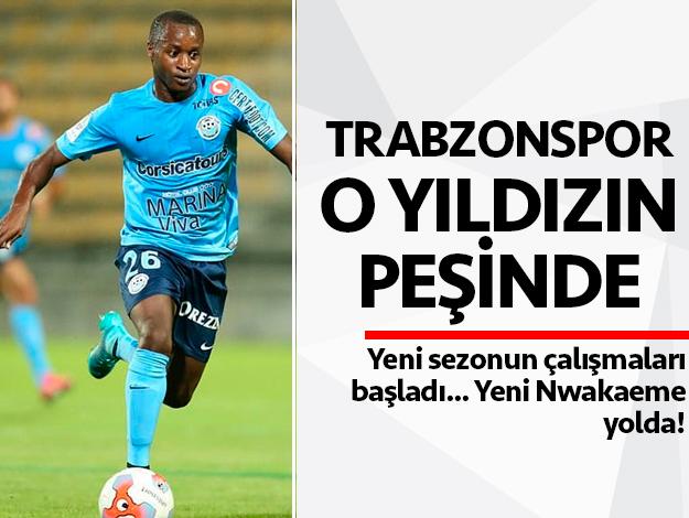 Trabzonspor transfer haberleri... Ibrahima Tandia radara girdi