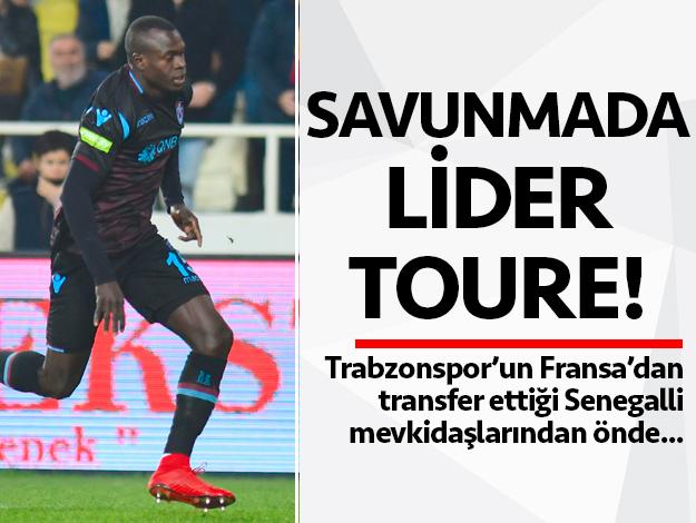 Trabzonspor'un savunma lideri Zargo Toure