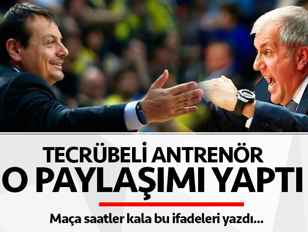 Ergin Ataman'dan 19 Mayıs için zafer mesajı