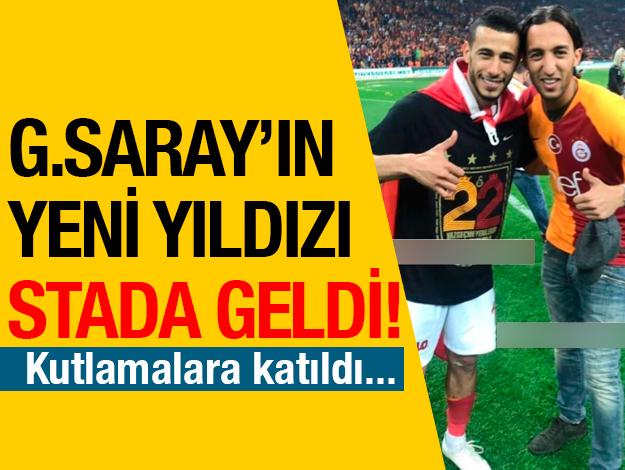 Galatasaray'ın yeni transferi şampiyonluk kutlamasında