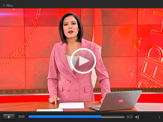 Gülbin Tosun ile FOX Ana Haber İzle 26 Mayıs Pazar FOX TV
