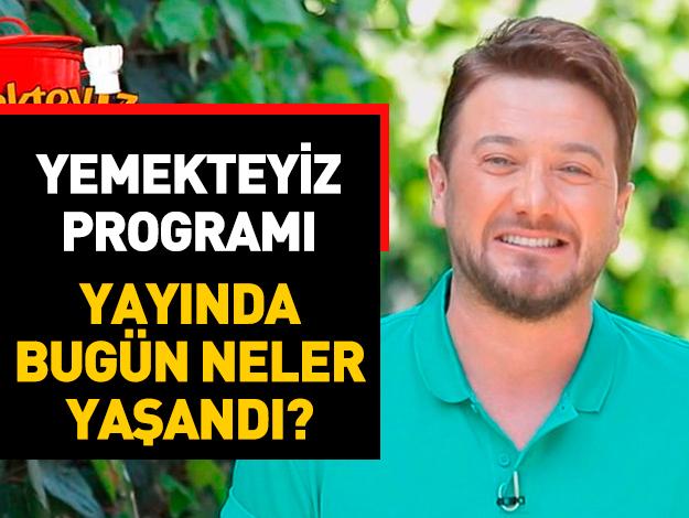Yemekteyiz 16 Mayıs Perşembe İzle TV8! Cengiz Kiren kaç puan aldı