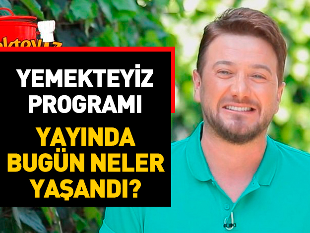 Yemekteyiz 17 Mayıs Cuma İzle TV8! Aybike Alev Yanar kaç puan aldı