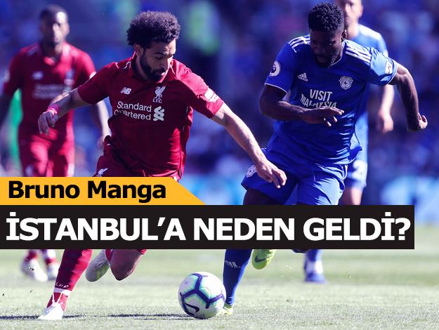 Bruno Ecuele Manga neden İstanbul'a geldi? Dikkat çeken detay