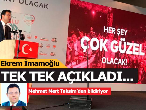 Ekrem İmamoğlu'ndan İstanbul'da hayatı kolaylaştıracak çözümler