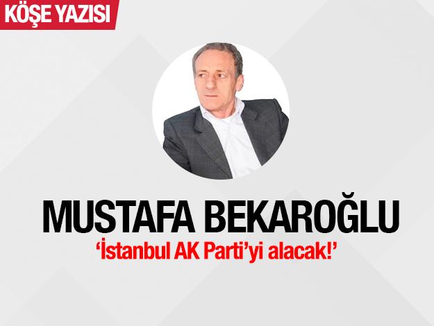 İstanbul AK Parti'yi alacak!
