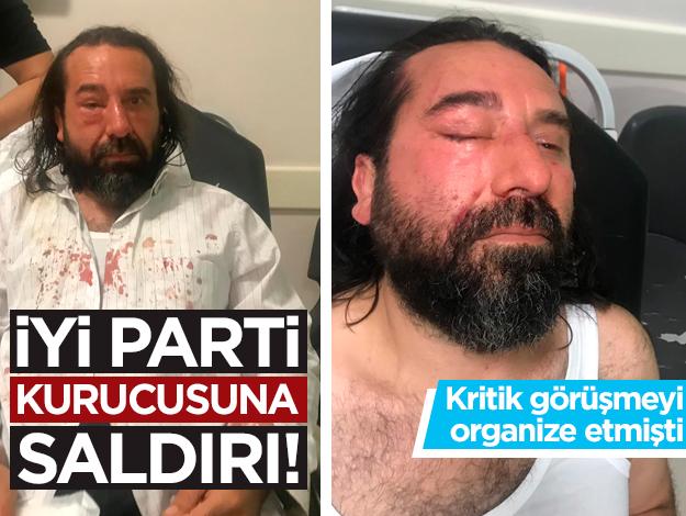 İYİ Parti kurucu üyesi Metin Bozkurt'a saldırı!