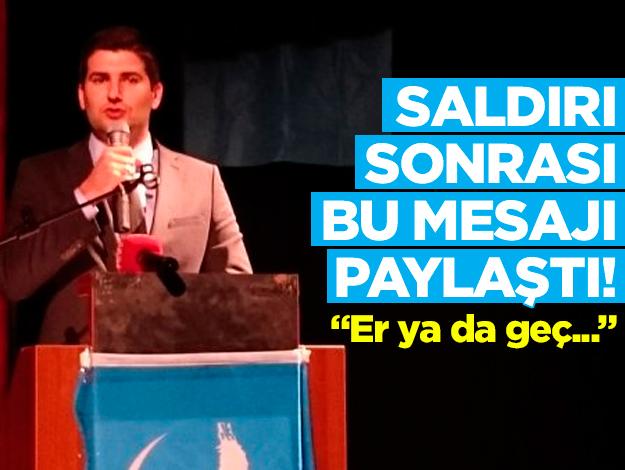MHP'li Ahmet Yiğit Yıldırım'dan Metin Bozkurt'a yapılan saldırı sonrası tepki çeken mesaj