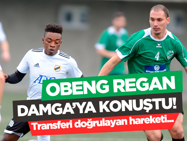 Obeng Regan: Trabzonspor'da oynamak isterim