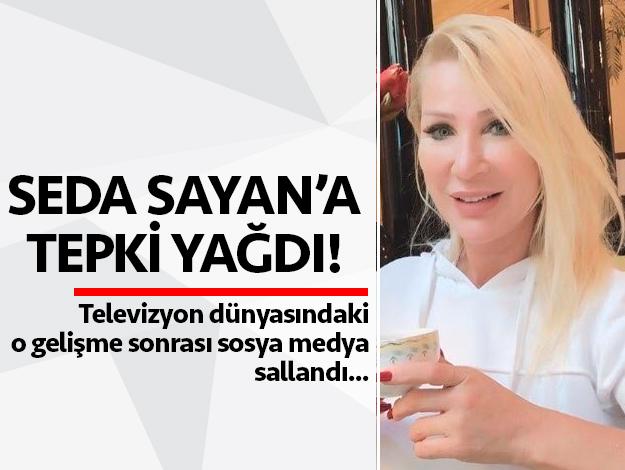 Onur Büyüktopçu'nun yerine gelen Seda Sayan'a sosyal medyada tepki